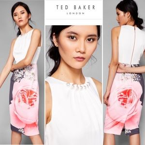 Ted Baker RUBELLE Blenheim Ruched Detail Dress